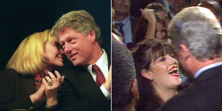an introduction to the scandal of president clinton and monica lewinsky President bill clinton with then intern monica lewinksy at the white house what was the monica lewinsky sex scandal bill clinton, then 49, and 22-year-old white house intern monica lewinsky.