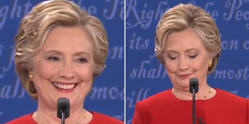 hillary clinton s debate winning shoulder shimmy is the new bye