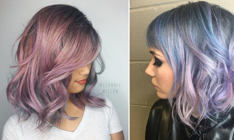What To Know About The Metallic Hair Dye Everyone Is