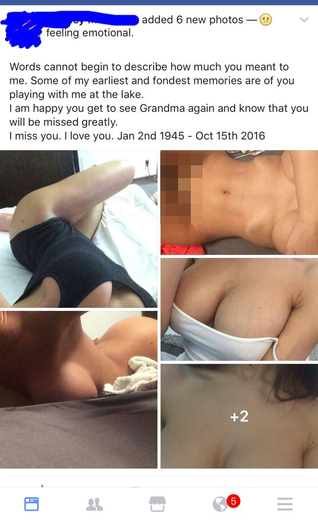 Nude posted pics