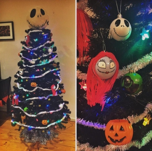 halloween christmas trees are perfect for lovers of both holidays