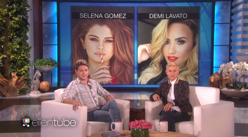 Are niall horan and demi lovato hookup