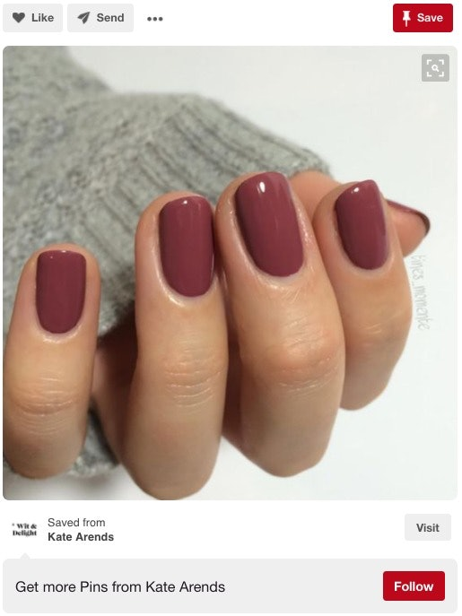 This Nail Polish Color Has Women Going Crazy This Fall