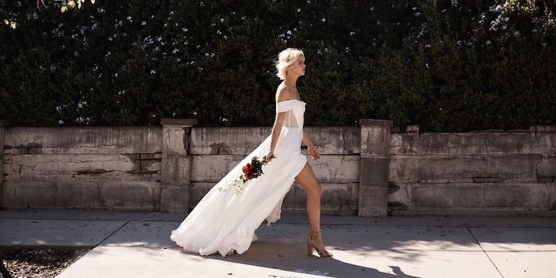 This Website Lets You Design Your Own Wedding Dress And Try It On
