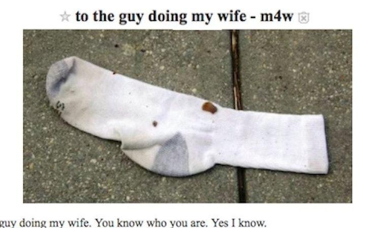 Husband Posts List Of Requests On Craigslist For 'Guy ...