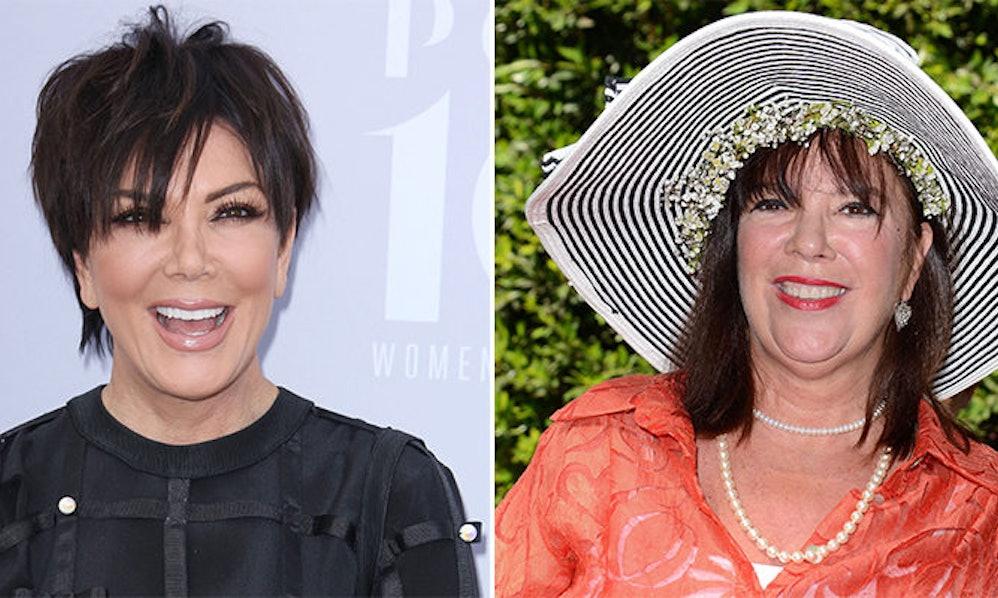 Kris Jenner S Sister Karen Houghton Got Plastic Surgery
