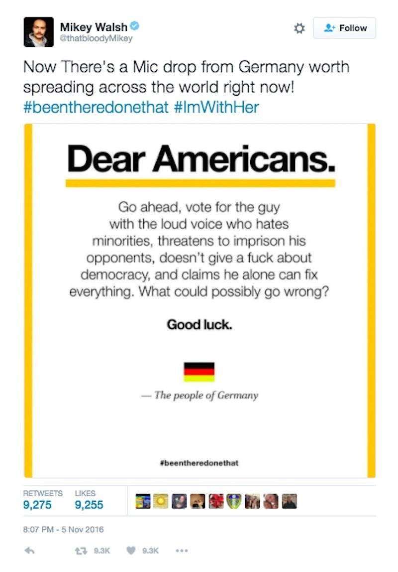 Message from people of germany about trump goes viral kristyandbryce Images
