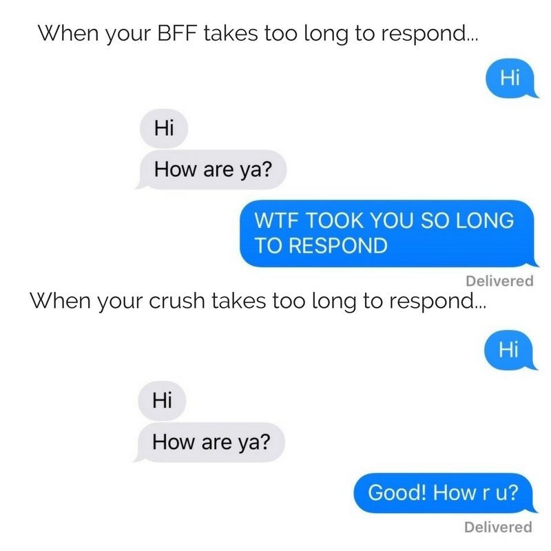 How to text ur crush