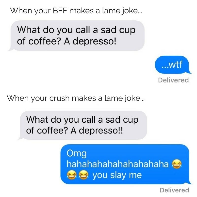 what to text your crush about