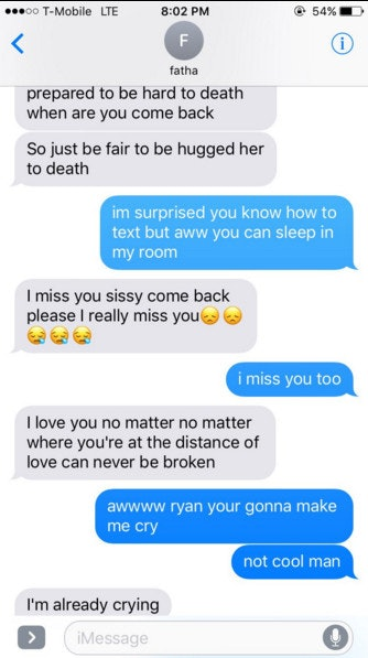 how to make him miss you through text