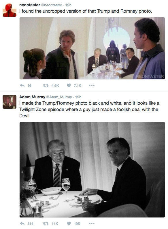 Mitt Romney Trump Memes 2 mitt romney's doing the right thing by playing to trump