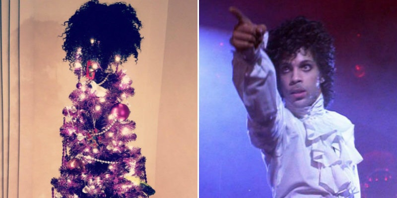 These Prince-Themed Christmas Trees Are Your Holiday Goals