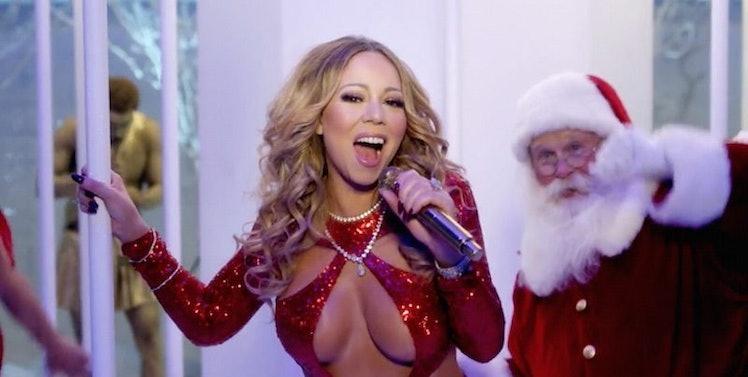 Mariah Carey Drops Sexy Christmas Music Video