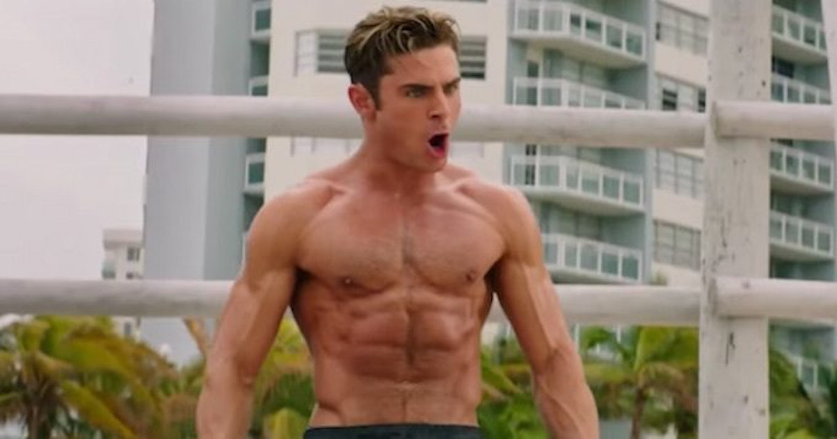 zac efron nipples