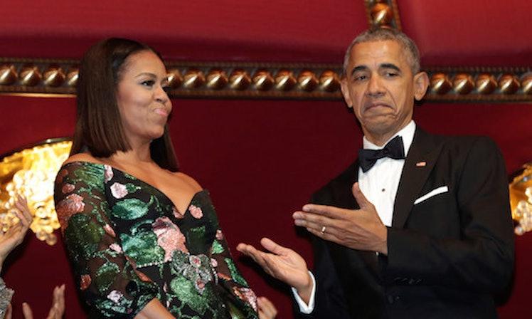 Barack Obama Was Groomsman At Friend Marvin Nicholsons Wedding