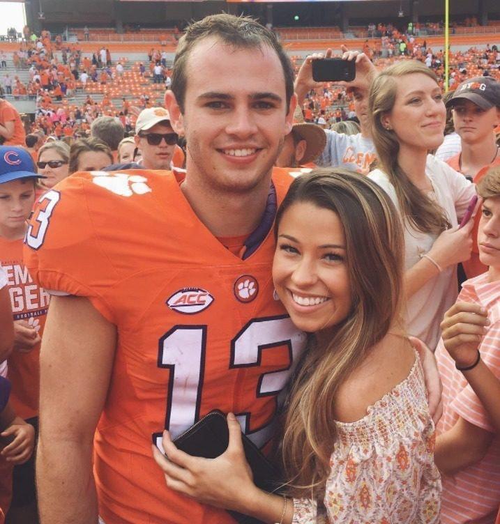 Clemson quarterback girlfriend