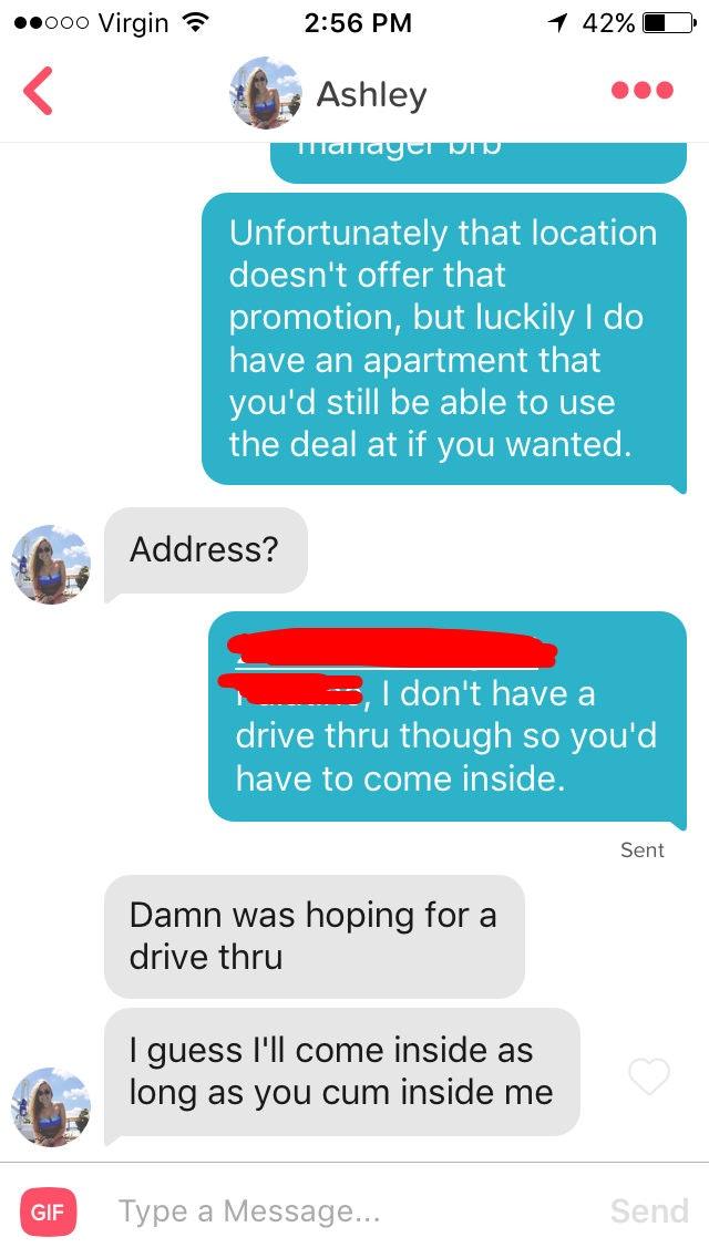 Tinder posts