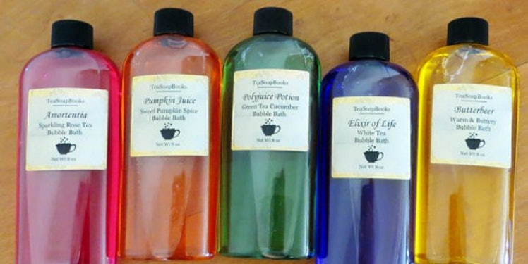 Harry Potter Soaps Will Make Your Bubble Bath Magical