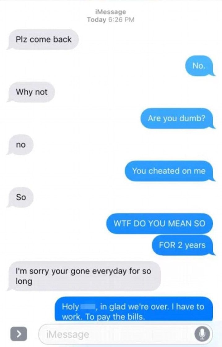 How to get revenge on an ex