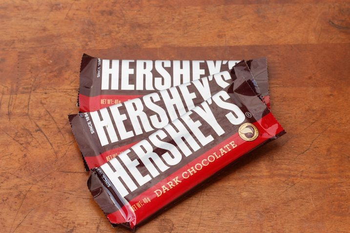 hershey s chocolate may include same chemical as vomit
