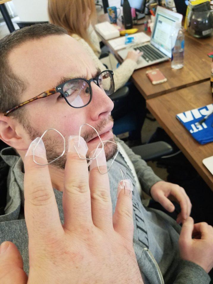 I Tried Pierced Nails Like Kim Kardashian
