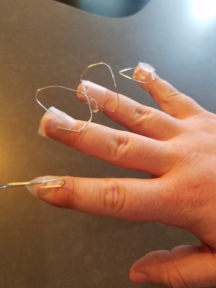 I Tried Pierced Nails Like Kim Kardashian