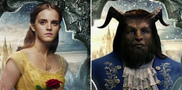 Beauty And The Beast Characters Move In New Posters
