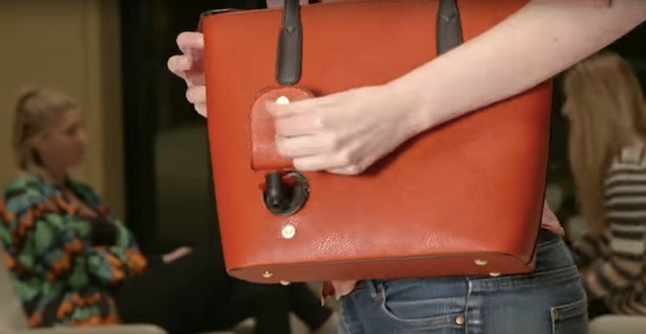 Purse With Wine Dispenser Lets You