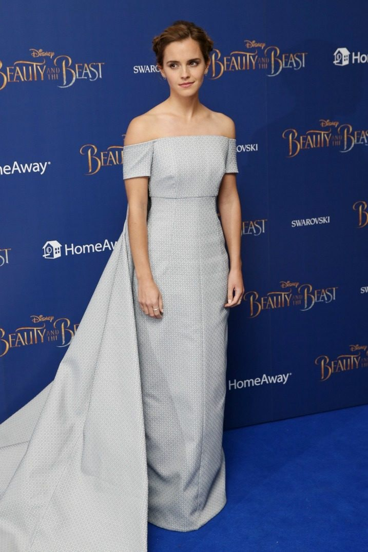 Emma Watson Slays Beauty And The Beast London Premiere