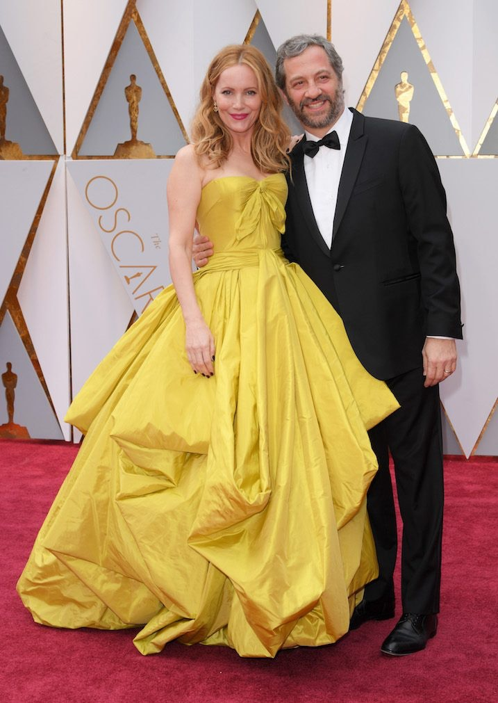 Leslie Mann Looked Like Belle At The Oscars