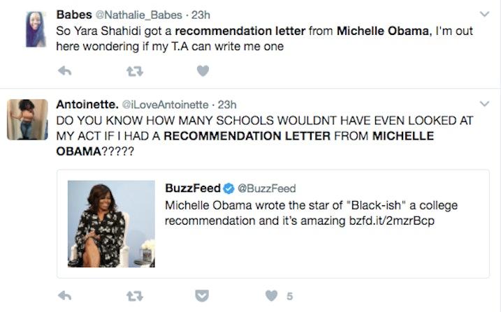 recommendatin letter