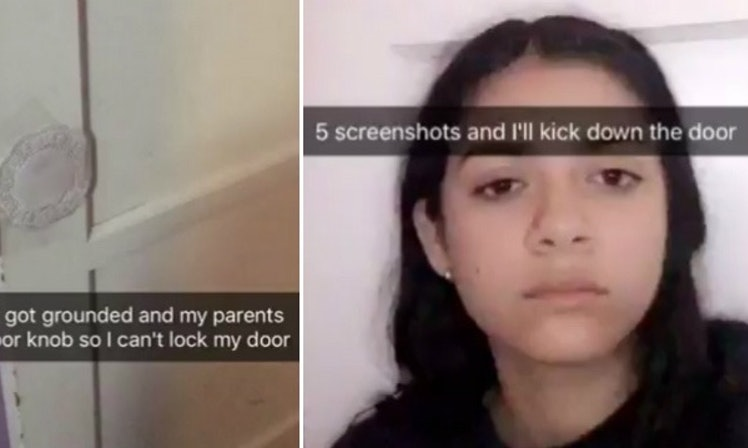 Grounded Teen Snapchats Her Great Escape