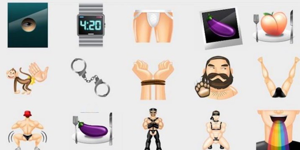 Gay Docking Pics intended for grindr emojis will teach you about gay people's sex lives