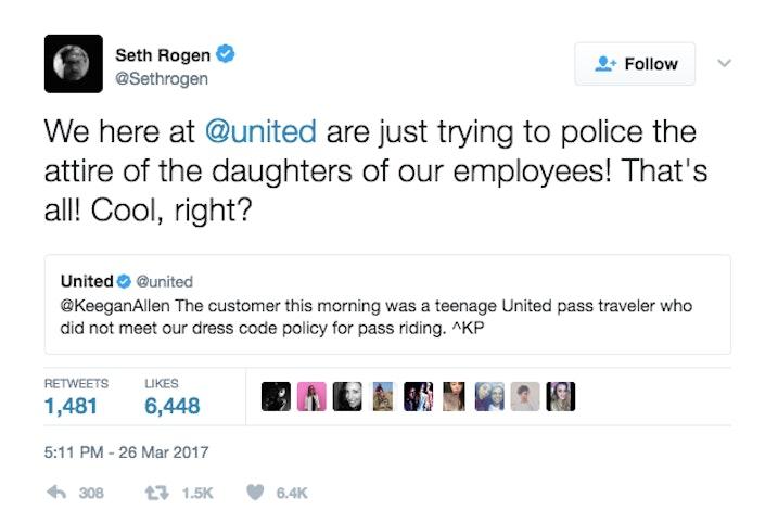 United Airlines Stops Girls With Leggings From Boarding