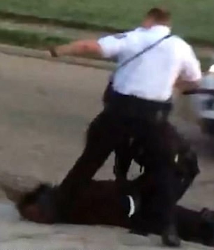 Cop Caught Curb-Stomping Man In Handcuffs