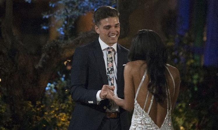 Bachelorette Dean Worries Dad Will Ruin Shot With Rachel