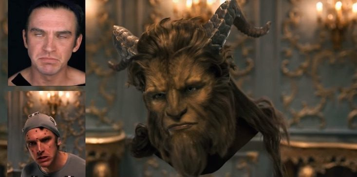 Dan Stevens In CGI Suit For Beauty And The Beast