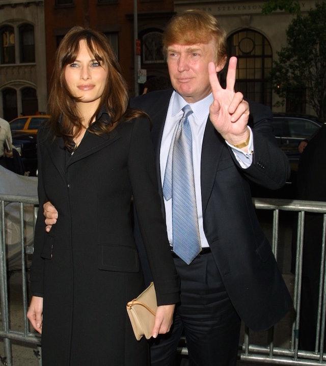 Story Donald Trump Wedding Photos: Timeline Of Donald And Melania Trump's Relationship