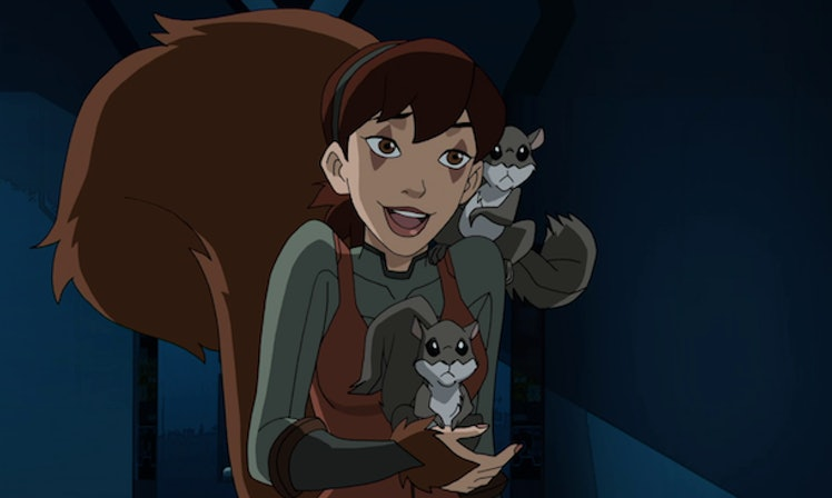 Ultimate spider man web warriors squirrel girl - photo#46