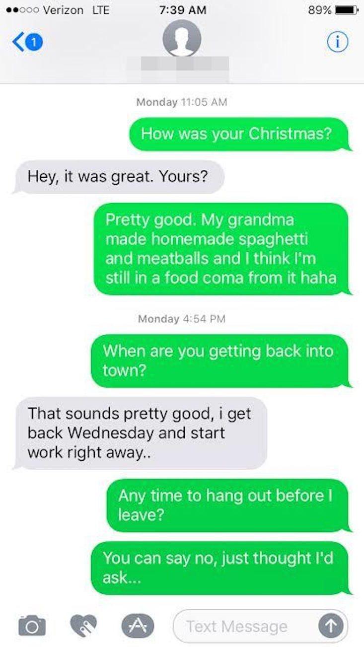 Ghosting someone dating someone
