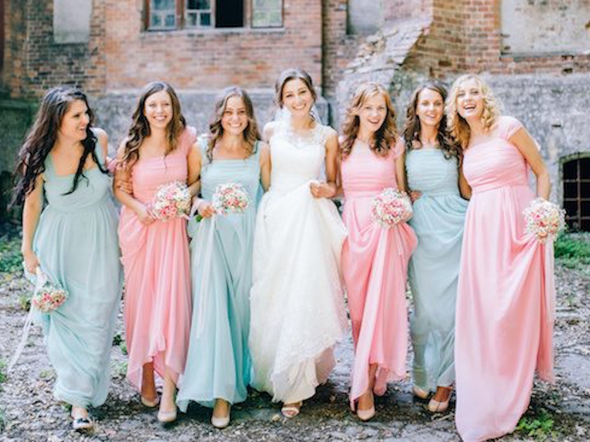 Fantástico Tlc Say Yes To The Dress Bridesmaids Embellecimiento ...