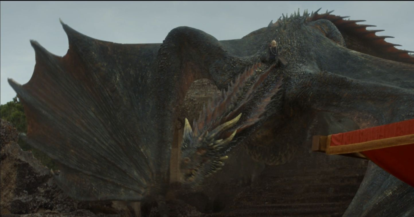 Daenerys' Entrance To The Dragon Pit On 'Game Of Thrones
