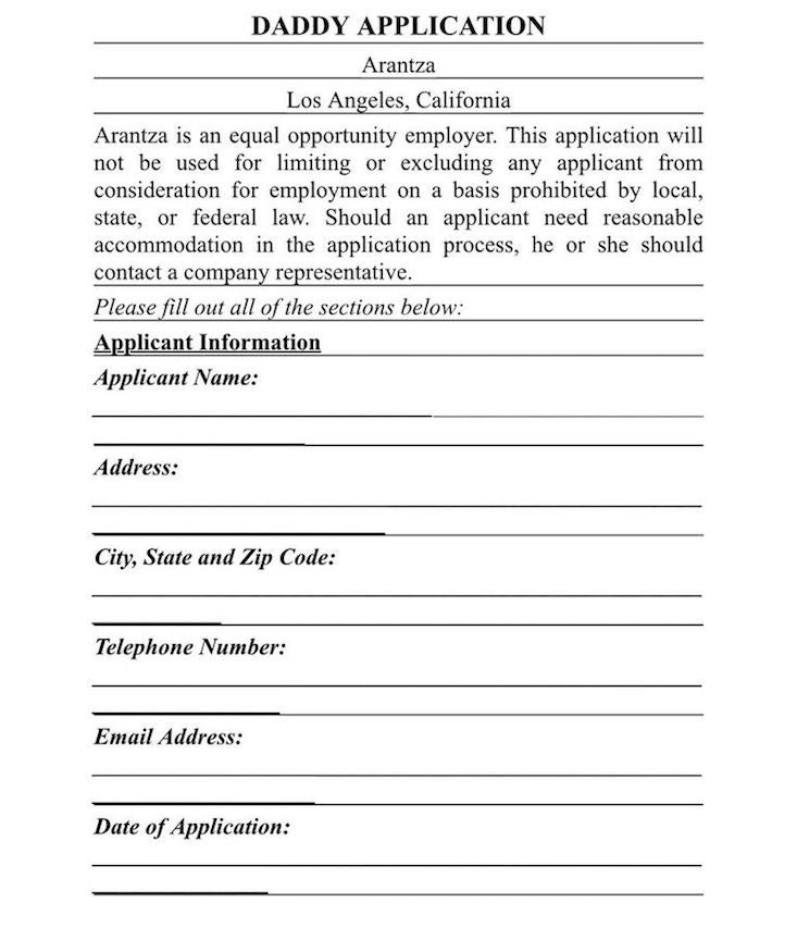 Arantza Fahnbulleh's Boyfriend Application Will Make You Die Laughing