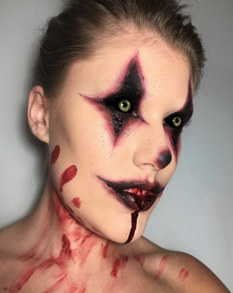 Clown Makeup Inspired By 'It' Is All Over Instagram & You'll