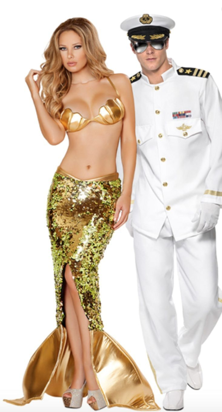Sexy his and hers costumes