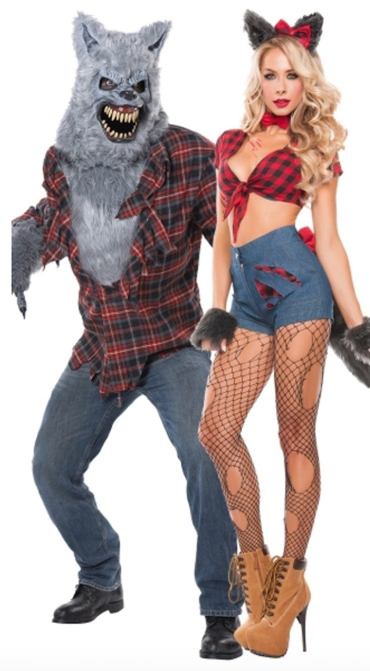 Sexy adult couple costumes