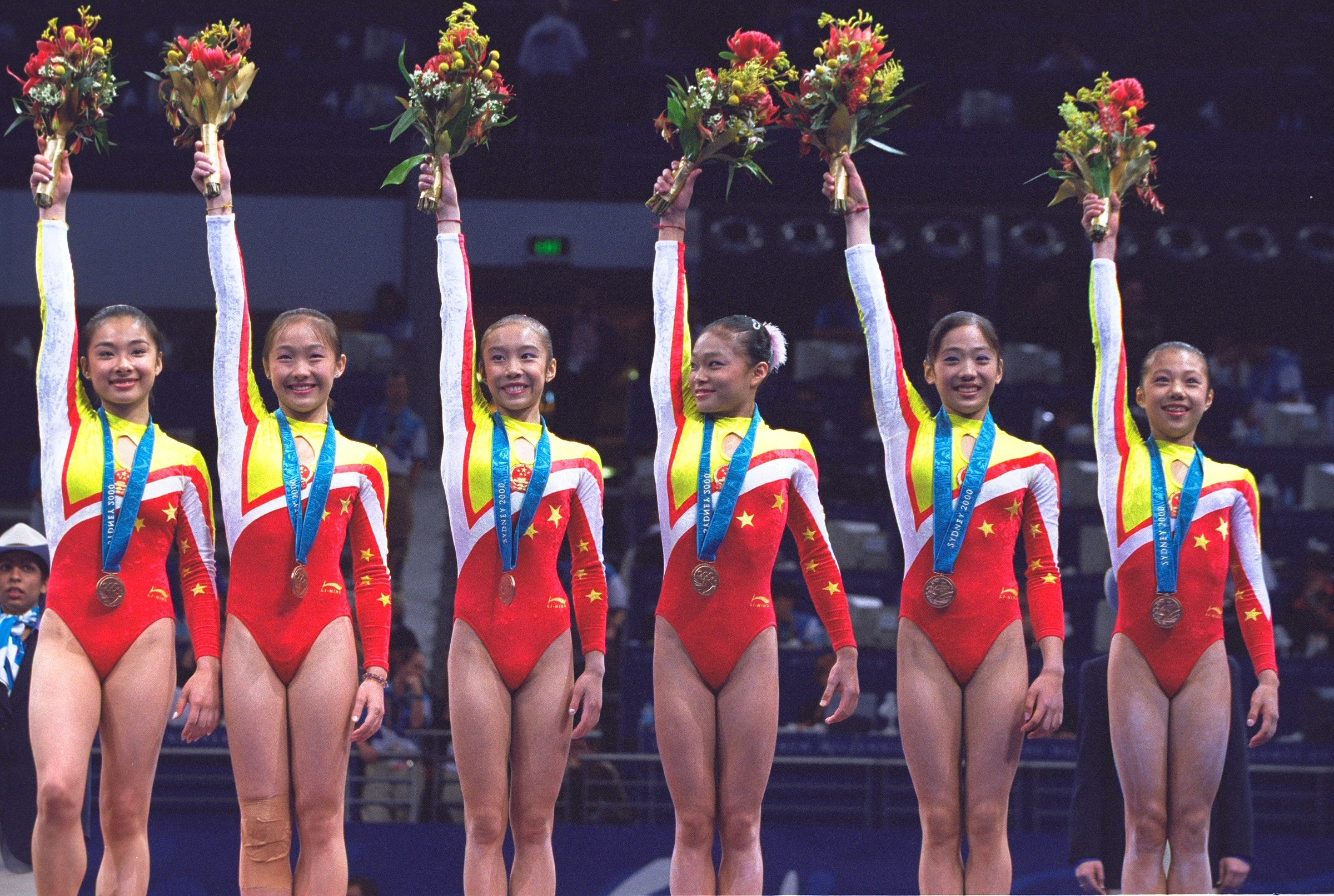 real chinese gymnast The Chinese Gymnastics Team's Ages Have Been Controversial More Times Than  One
