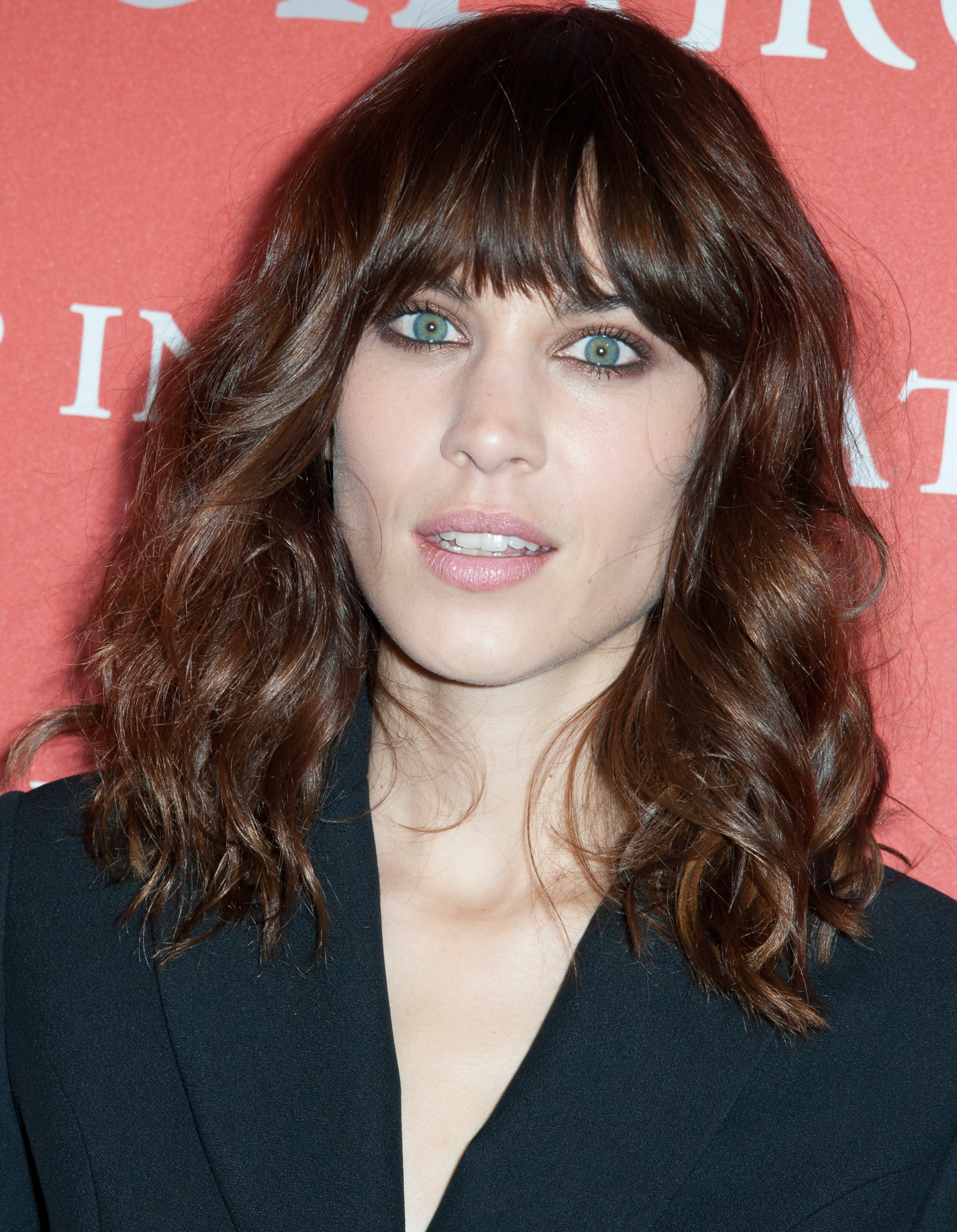 In Honor Of Alexa Chungs New Bangs Here Are 15 Of Her Best Hair