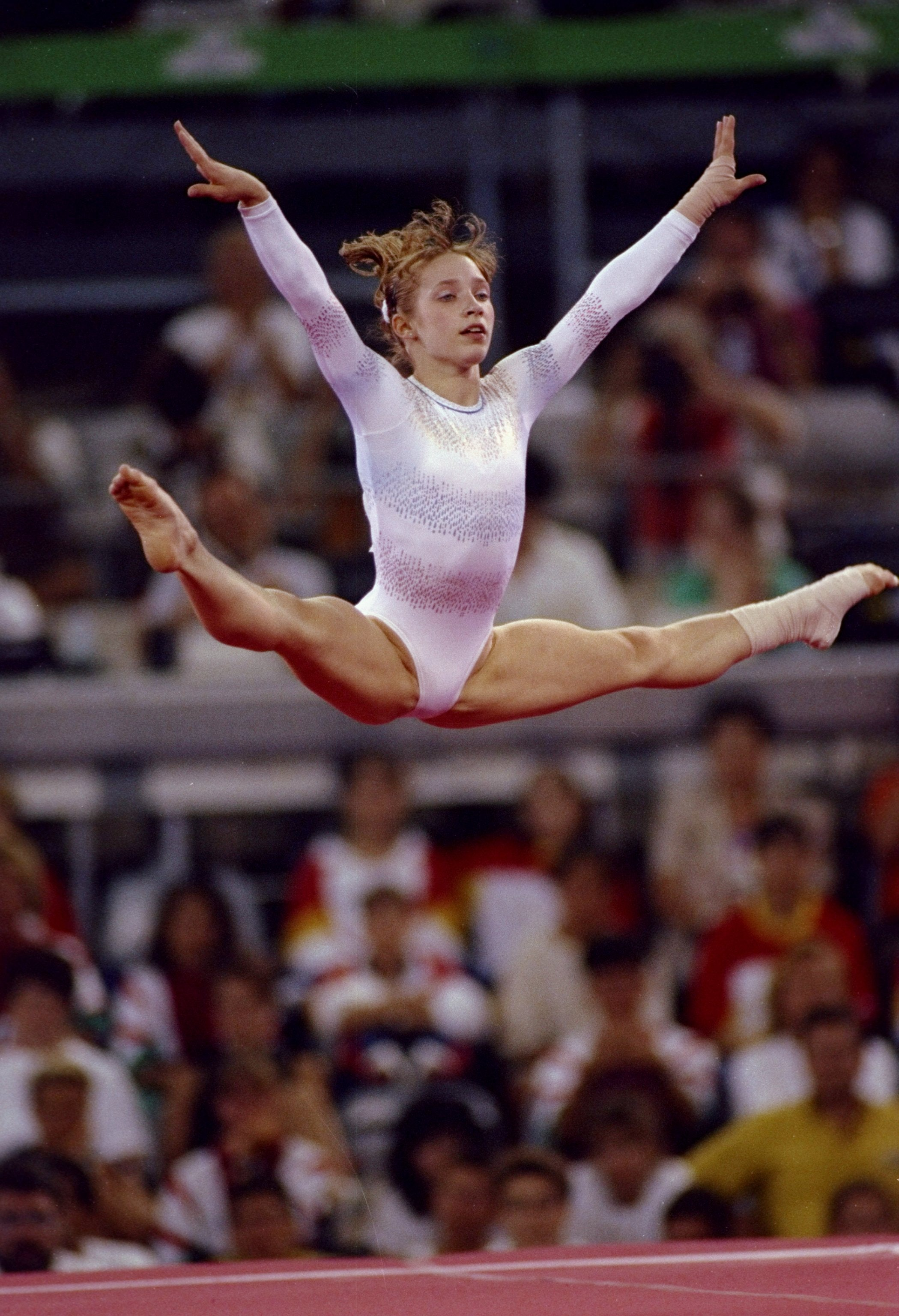 The series Gymnasts: actors and roles