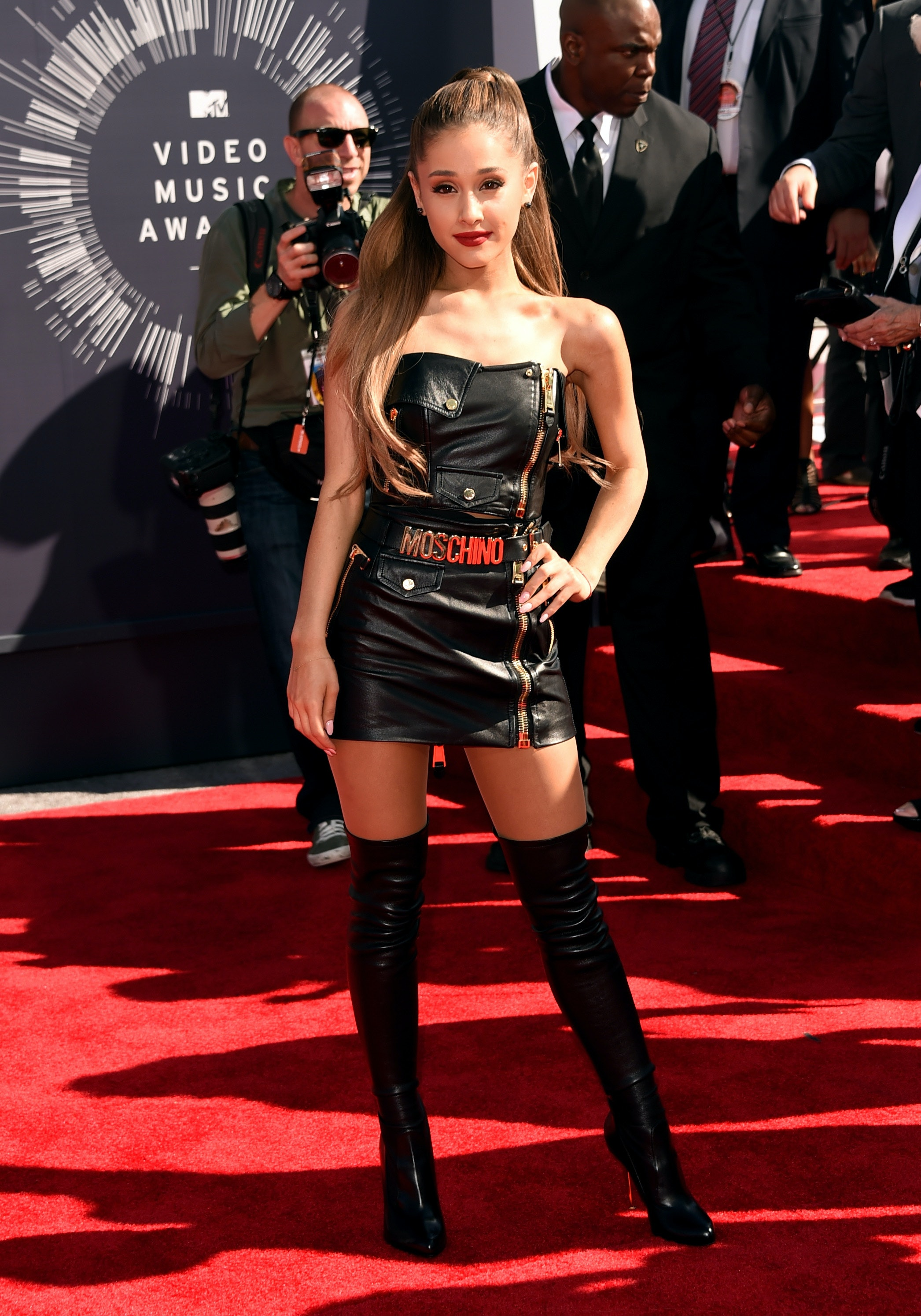 Ariana grande sexy dress